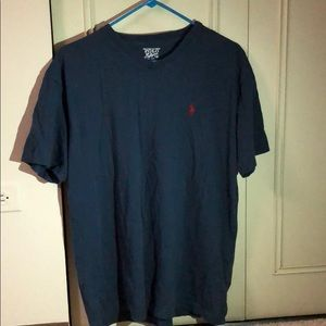 Dark Blue Polo by Ralph Lauren V neck